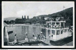 dc2573 - GERMANY Jugenheim 1940s Luftkurort Schwimmbad. Swimming Pool