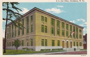CLARKSBURG, West Virginia, 1900-1910's; U.S. Post Office