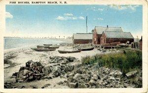 NH - Hampton Beach. Fish Houses