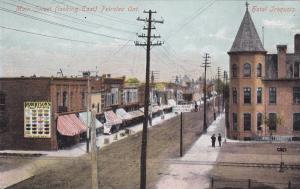 PETROLEA , Ontario , Canada , Pre-1907 ; Main Street , East