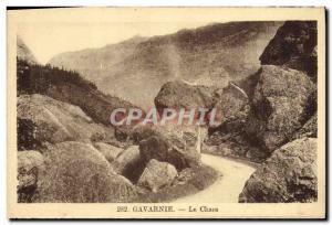 Old Postcard Gavarnie Chaos