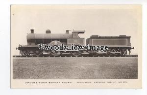 ry1420 - London & North Western Railway Engine - Precursor no 513 - postcard
