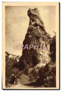 Old Postcard The Tarn Gorges Montpellier Old the Great Sphinx