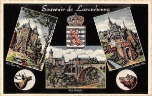 Souvenir de Luxembourg, Pont Adolphe, Les Trois Tours, La Vieille Ville Bridge