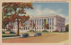 Wisconsin Kenosha County Court House Curteich