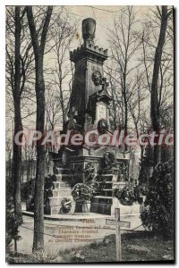 Old Postcard Metz Chambi?re Friedhof
