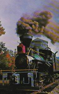 New Hampshire White Mountain Central Railroad Heisler Steam Locomotive