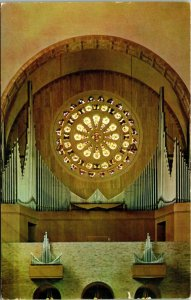 The Great Organ, National Shrine of the Immaculate Conception, D.C. postcard