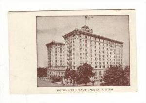 Hotel Utah, Salt Lake City, Utah, 1900-1910s
