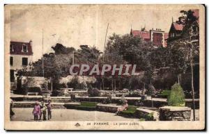 Old Postcard Parame The Public Garden