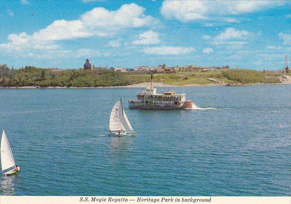 Canada S S Moyie Heritage Park Calgary Alberta