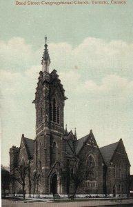 TORONTO, Ontario, Canada, PU-1910; Bond Street Congregational Church
