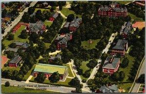 1940s Atlanta, Georgia Postcard Aerial View of SPELMAN COLLEGE Black Americana