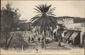 Bone Algeria Quartier Mozabites c1900 UDB Postcard