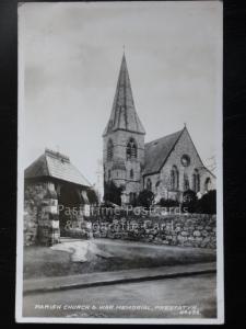 C1933 - PRESTATYN - paroisse église & War Memorial