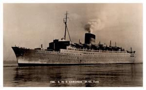R.M.S. Caronia  , Cunard Line ,  RPC