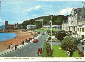 United Kingdom, Corran Esplanade and Cathedral, Oban, 1970s