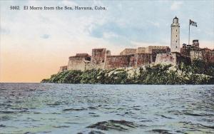 Cuba Havana El Morro From The Sea Curteich