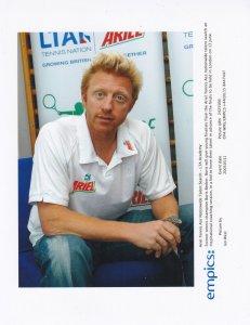 Boris Becker Ariel Washing Powder Scouting German Tennis Press Photo
