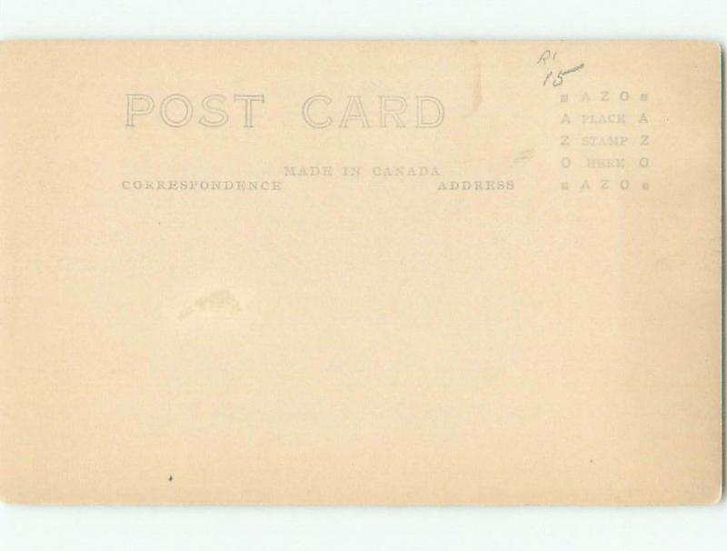 Pre-1949 rppc NICE VIEW Sussex - Near Moncton New Brunswick NB W1061