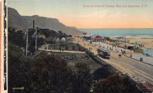 br104439 general view of camps bay and apostles africa south africa tram tramway