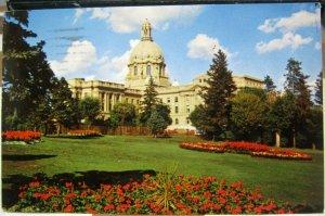 Canada Legislative Building Edmonton Alberta - posted 1958