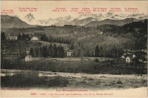 CPA Pau Le Gave et les Pyrenees FRANCE (1124260)