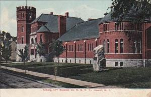 New York Hornell Armory 47th Separate Company New York National Guard 1904