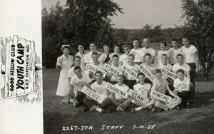 RP: CHESTERTON , Indiana , 1959 ; Good Fellow Club Youth Camp Staff