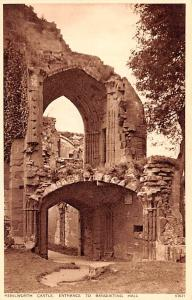 United Kingdom, Great Britain, England Kenilworth Castle, Entrance to Banquet...