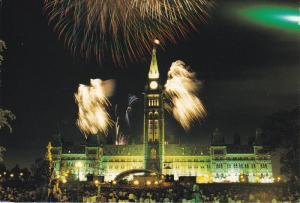 Canada Day Fireworks, Ottawa, Ontario, Canada, PU-2003