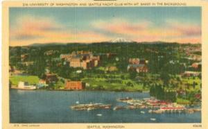 University of Washington and Seattle Yacht Club, Washingt...