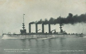 Protected Cruiser , ST LOUIS , 00-10s