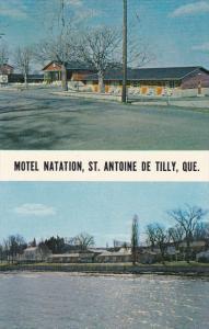 2-Views, Motel Natation, ST. ANTOINE DE TILLY, Quebec, Canada, 40-60's