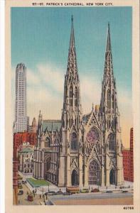 New York City St Patrick's Cathedral 1944