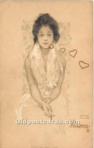 La Favorite I Edit. E Storch Vienne. VT. Artist Raphael Kirchner Unused minim...