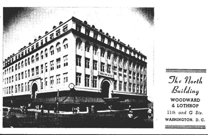 Washington D C Woodward & Lothrop The North Building