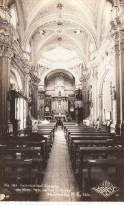 RP: MONTEREY , Mexico , 1920-30s ; Cathedral Interior