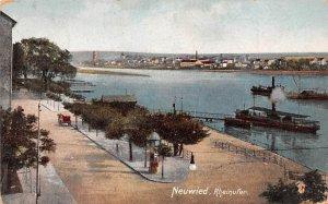Rheinufer Neuwied Germany 1912