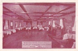 Interior, Sunnyside Hotel, LA SALLE, Ontario, Canada, PU-1932