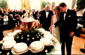 Washington D C White House President Reagan's 70th Brithday Celebration