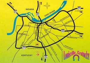 Kentucky Map Of Louisville