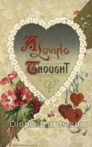 Publisher John Winsch Valentines Day 1911 postal used 1911
