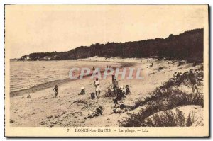 Postcard Old Bramble Bains Beach
