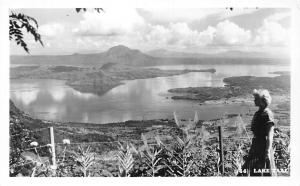 Philippines Taal Lake Lago Lac, Woman, Lady, Panorama Scenery