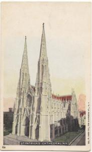 St. Patrick's Cathedral, New York, early 1900s, unused Postcard