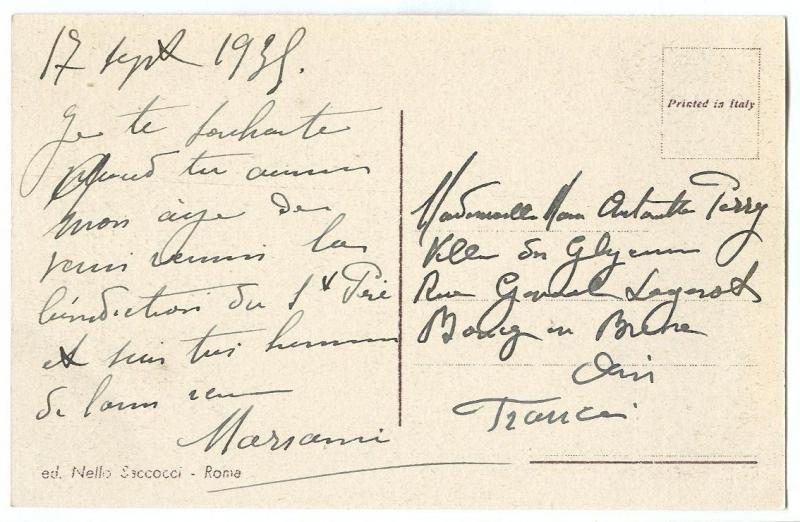Italy, Rome, Roma, Foro Romano, 1930s used Postcard