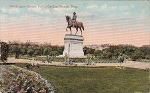 washington Statue Public Garden Boston Massachusetts 1917