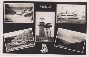RP, VLIELAND, Netherlands, PU-1952; 5-Views including Vuurtoren(LIGHTHOUSE)