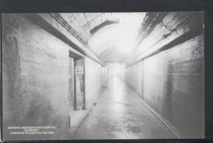 Channel Islands Postcard - German Underground Hospital, Guernsey  T7203